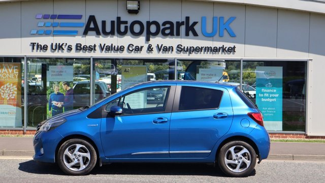 USED 2015 15 TOYOTA YARIS 1.5 HYBRID ICON 5d 73 BHP LOW DEPOSIT OR NO DEPOSIT FINANCE AVAILABLE