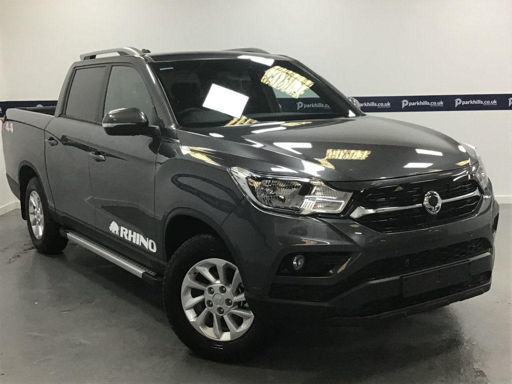 USED 2020 SSANGYONG MUSSO GRAND RHINO AUTO (BRAND NEW - 7 YEAR WARRANTY)