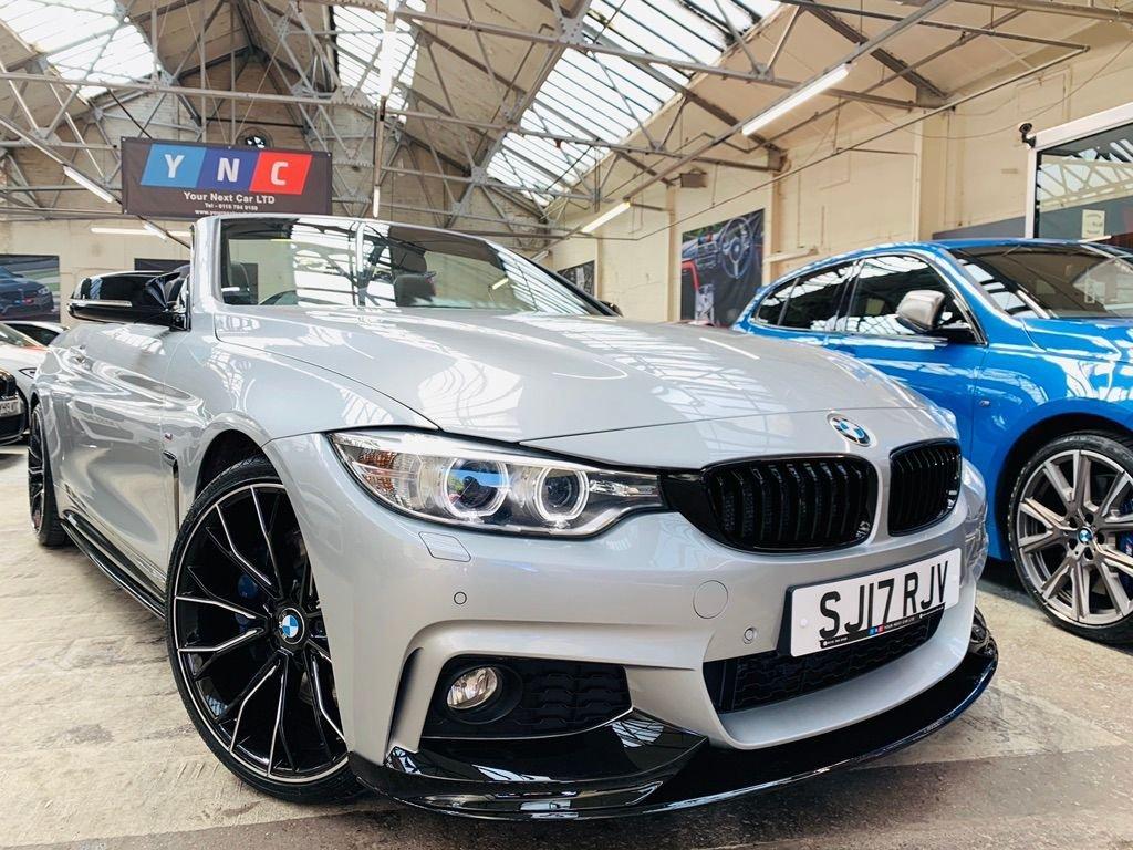 USED 2017 17 BMW 4 SERIES 3.0 430d M Sport Auto (s/s) 2dr PERFORMANCEKIT+20S+PLUSPACK