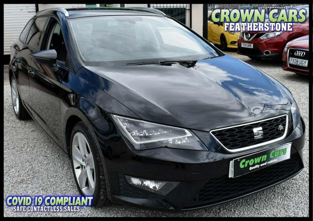 USED 2014 14 SEAT LEON 2.0 TDI CR FR (Tech Pack) ST 5dr AMAZING LOW RATE FINANCE DEALS