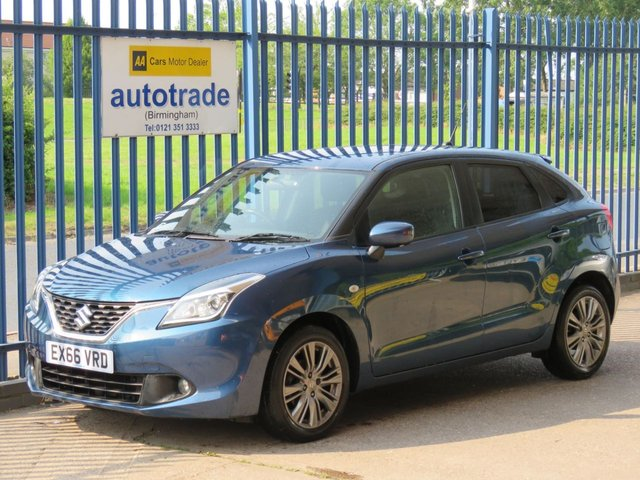USED 2016 66 SUZUKI BALENO 1.0 SZ3 BOOSTERJET 5d 111 BHP SAT NAV, REAR CAMERA DAB HISTORY ULEZ COMPLIANT COLOUR SAT NAV, REVERSE PARKING CAMERA, £20 ROAD TAX, ULEZ COMPLIANCE, AIR CON, ALLOYS, DAB RADIO