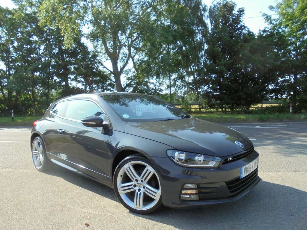 USED 2015 15 VOLKSWAGEN SCIROCCO 2.0 R LINE TDI BLUEMOTION TECHNOLOGY 2d 150 BHP