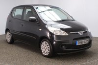 USED 2010 60 HYUNDAI I10 1.2 CLASSIC 5DR 77 BHP FULL SERVICE HISTORY + £30 12 MONTHS ROAD TAX + AIR CONDITIONING + RADIO/CD/MP3 + AUXILIARY PORT + ELECTRIC WINDOWS