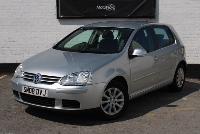 2008 08 VOLKSWAGEN GOLF 1.9 TDI MATCH 5 DOOR