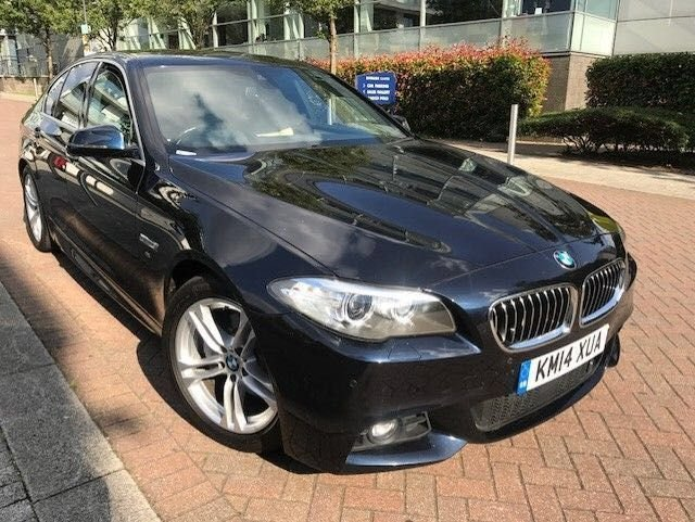 2014 S BMW 5 SERIES 2.0 520D M SPORT 4d 181 BHP