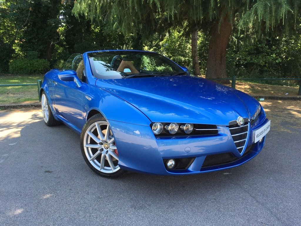 USED 2008 08 ALFA ROMEO SPIDER 3.2L JTS V6 Q4 2d 260 BHP £4000 OF FACTORY EXTRAS..