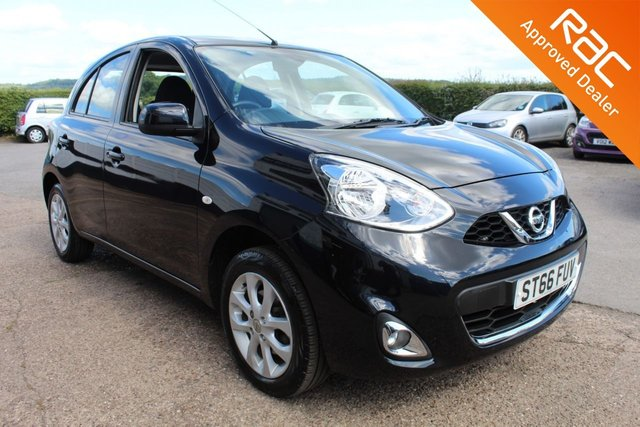 USED 2017 66 NISSAN MICRA 1.2 ACENTA 5d 79 BHP £30 ROAD TAX