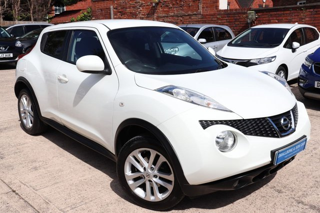 USED 2013 13 NISSAN JUKE 1.6 ACENTA PREMIUM 5d 117 BHP * BUY ONLINE * CONTACTLESS PURCHASE AVAILABLE *