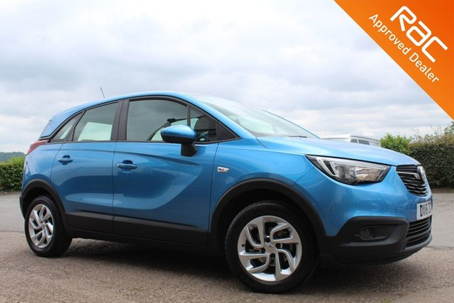 USED 2018 18 VAUXHALL CROSSLAND X 1.6 SE ECOTEC S/S 5d 98 BHP VIEW AND RESERVE ONLINE OR CALL 01527-853940 FOR MORE INFO.