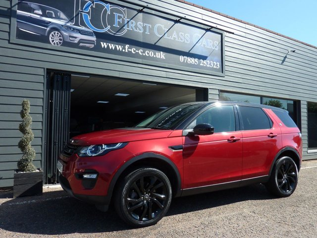 2016 66 LAND ROVER DISCOVERY SPORT 2.0 TD4 HSE BLACK 5d 180 BHP