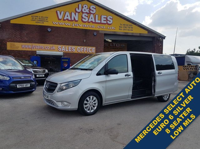 USED 2016 16 MERCEDES-BENZ VITO 114 BLUETEC TOURER SELECT MINIBUS MPV  ( LOTS MORE IN STOCK OVER 100 ON SITE )