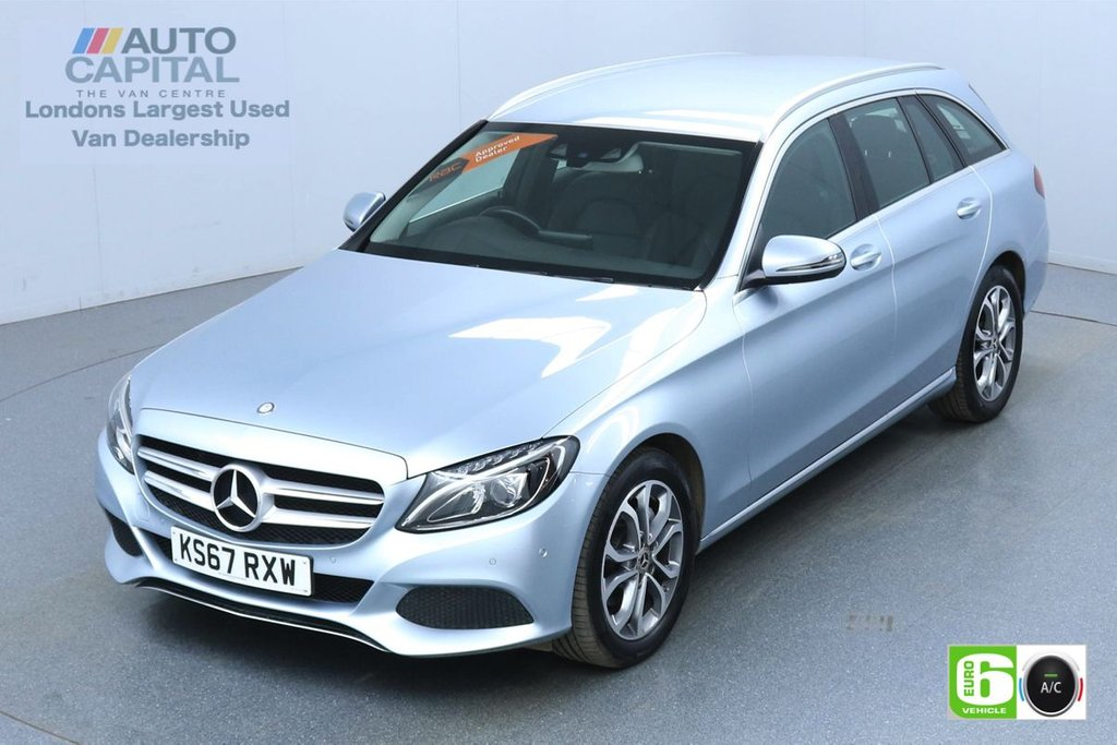 USED 2017 67 MERCEDES-BENZ C-CLASS 2.1 C 220 D Sport 170 BHP Auto Leather Seats Low Emission Finance Available Online | Sat Nav | Reverse Camera