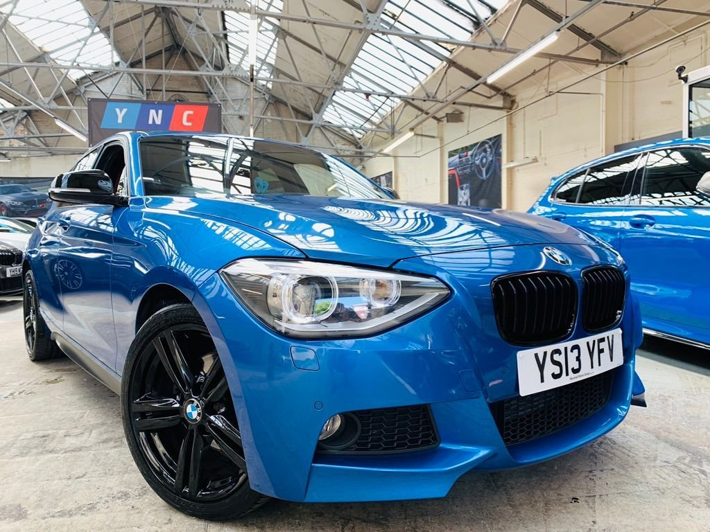 USED 2013 13 BMW 1 SERIES 2.0 120d M Sport Sports Hatch xDrive (s/s) 5dr YNCSTYLING+4WD+XENONS