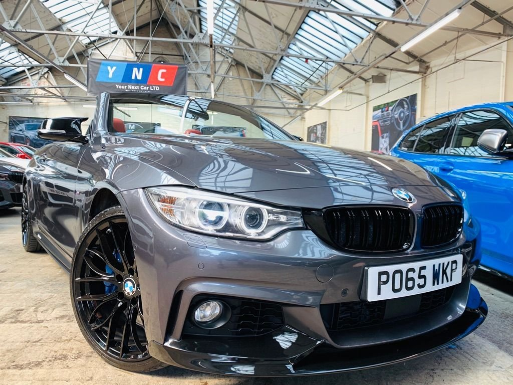 USED 2015 65 BMW 4 SERIES 3.0 435d M Sport xDrive 2dr PERFORMANCEKIT+20S+COMFORTPACK