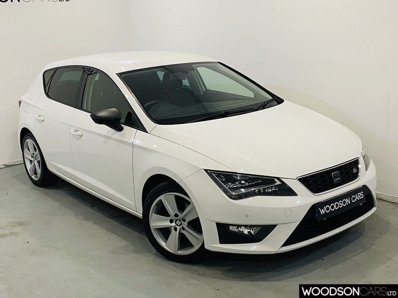 USED 2015 SEAT LEON 2.0 TDI FR TECHNOLOGY 5d 150 BHP Sat Nav / Bluetooth / Parking Sensors / Xenon Lights / Cruise Control