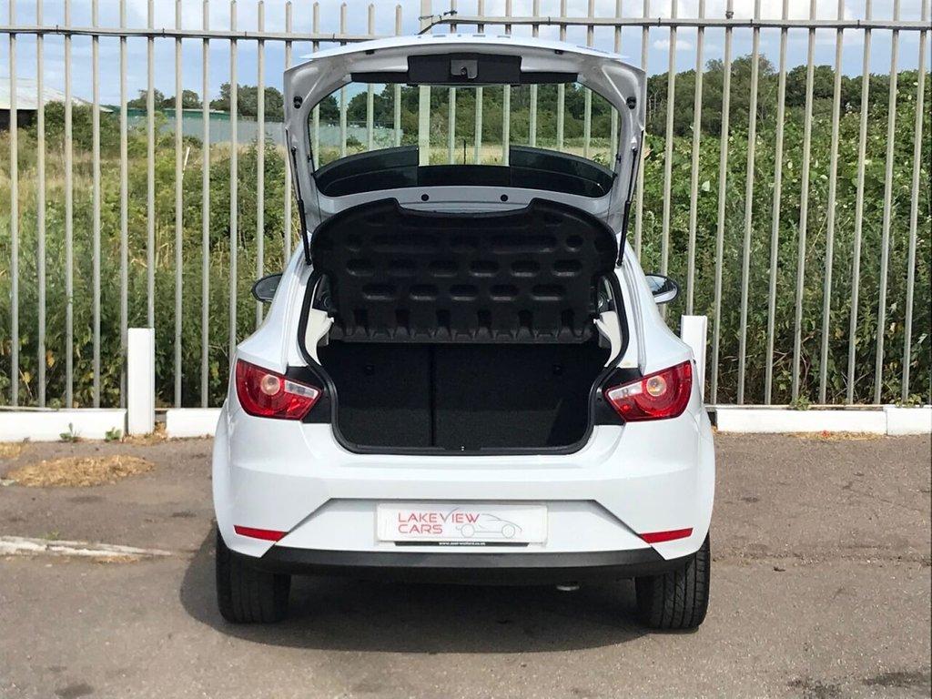 USED 2013 63 SEAT IBIZA 1.4 TOCA 3d 85 BHP