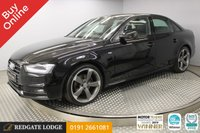 USED 2015 15 AUDI A4 2.0 TDI QUATTRO BLACK EDITION S/S 4d 174 BHP BUY ONLINE. FREE HOME DELIVERY