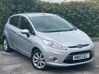 USED 2010 10 FORD FIESTA 1.4 ZETEC 16V 5d 96 BHP AIR CONDITIONING, ALLOY WHEELS