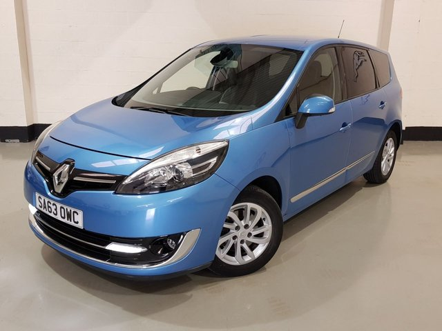USED 2013 63 RENAULT GRAND SCENIC 1.6 DYNAMIQUE TOMTOM DCI S/S 5d 130 BHP 1 Previous Owner/Sat-Nav/Park Sensors/Half Leather Seats