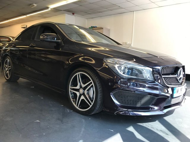 USED 2013 63 MERCEDES-BENZ CLA 1.6 CLA180 AMG SPORT 4d 122 BHP Fully prepared for sale, including full service and new MOT. Immaculate CLA.