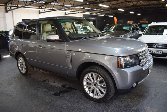 USED 2012 12 LAND ROVER RANGE ROVER 4.4 TDV8 WESTMINSTER 5d 313 BHP STUNNING CONDITION THROUGHOUT - 4.4TDV8 WESTMINSTER - 2 PREVIOUS KEEPERS - FULL LANDROVER S/H - IVORY LEATHER