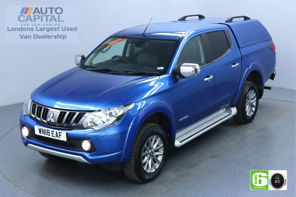 USED 2018 18 MITSUBISHI L200 2.4 DI-D 4WD warrior Auto 180 Bhp Leather Seats Low Emission Finance Available Online | Reverse Camera | GPS | Rear Tow Fitted