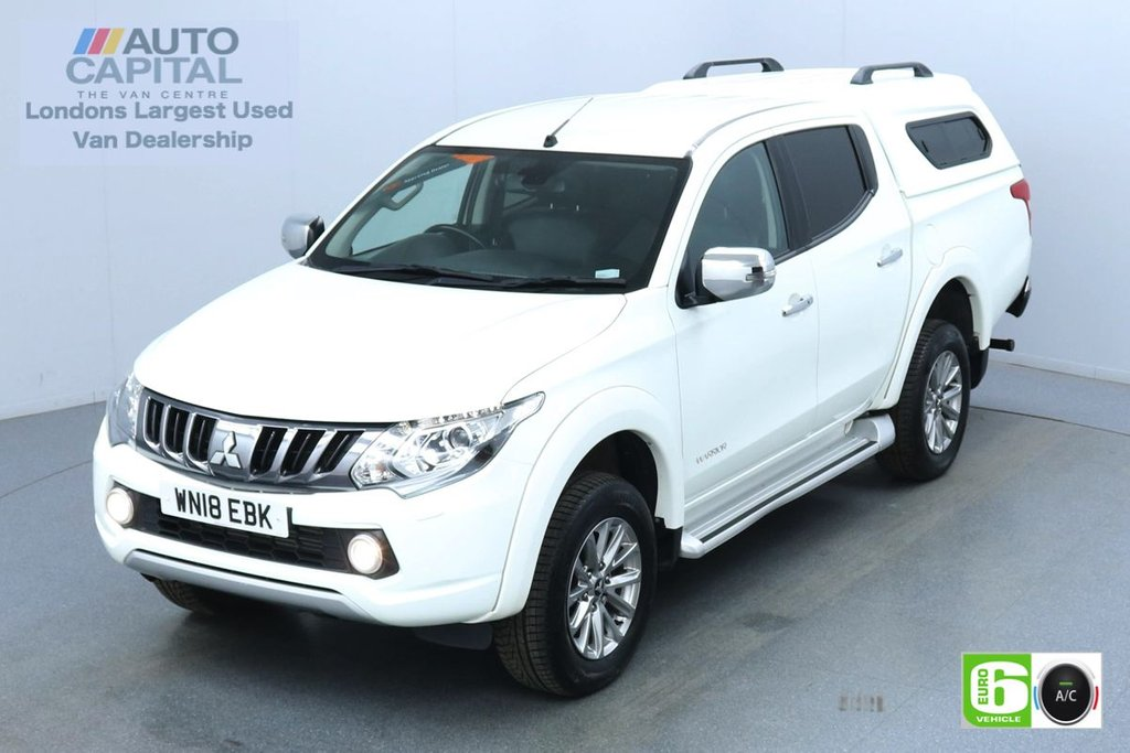 USED 2018 18 MITSUBISHI L200 2.4 DI-D 4WD warrior Auto 180 Bhp Leather Seats Low Emission Finance Available Online | Reverse Camera | GPS