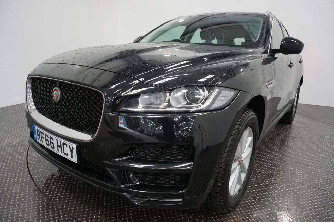 Used JAGUAR F-PACE for sale
