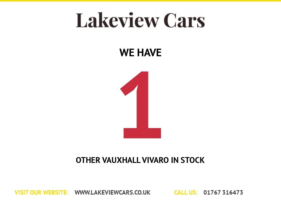 USED 2015 65 VAUXHALL VIVARO 1.6 2700 L1H1 CDTI P/V SPORTIVE 114 BHP