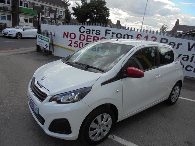 USED 2017 17 PEUGEOT 108 1.0 ACTIVE 5d 68 BHP **JUST ARRIVED...NO DEPOSIT DEALS...01922 494874