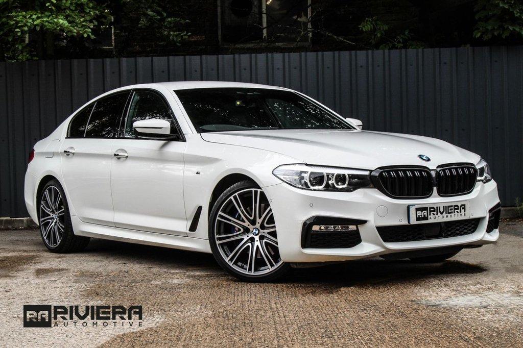 USED 2017 17 BMW 5 SERIES 3.0 530D M SPORT 4d 261 BHP