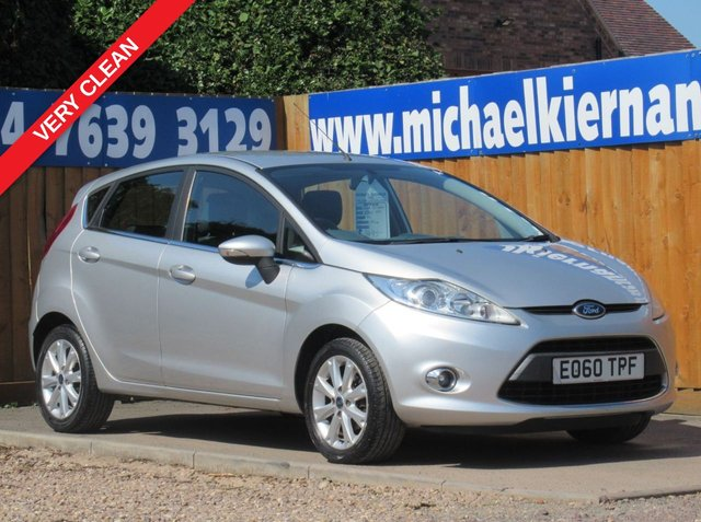 USED 2010 60 FORD FIESTA 1.2 ZETEC 5d 81 BHP VERY CLEAN CAR