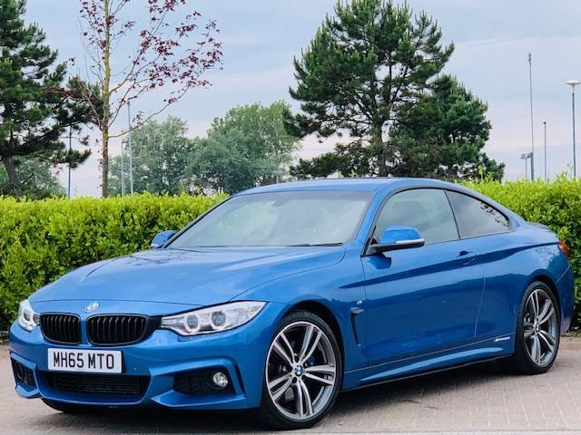 USED 2016 65 BMW 4 SERIES 2.0 420D M SPORT 2d 188 BHP