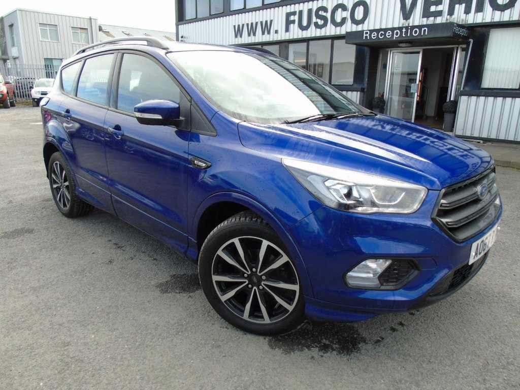 USED 2018 67 FORD KUGA 1.5 ST-LINE 5d 148 BHP £290 a month, T&Cs apply.