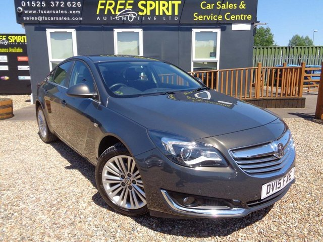 USED 2015 15 VAUXHALL INSIGNIA 1.8 i Design 5dr Full Vauxhall History from new