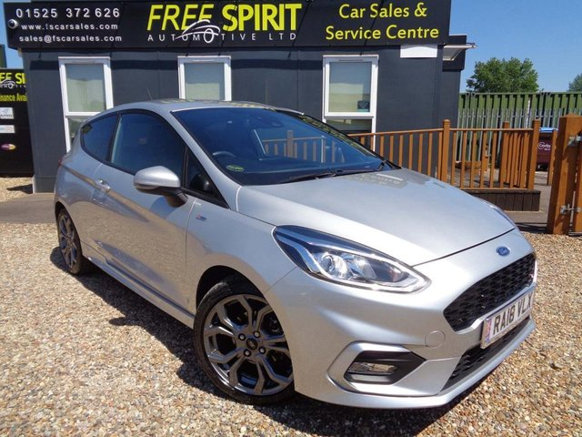 USED 2018 18 FORD FIESTA 1.0T EcoBoost ST-Line X (s/s) 3dr Nav, Rear-Cam, Bluetooth