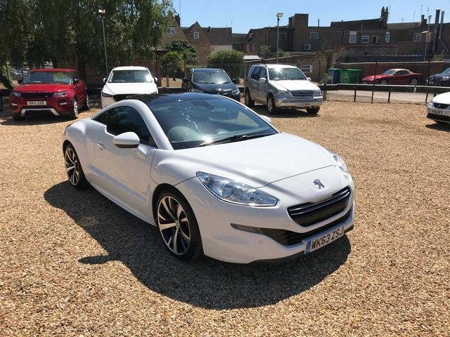 USED 2013 63 PEUGEOT RCZ 2.0 HDi GT 2dr Stunning Low Mileage Example