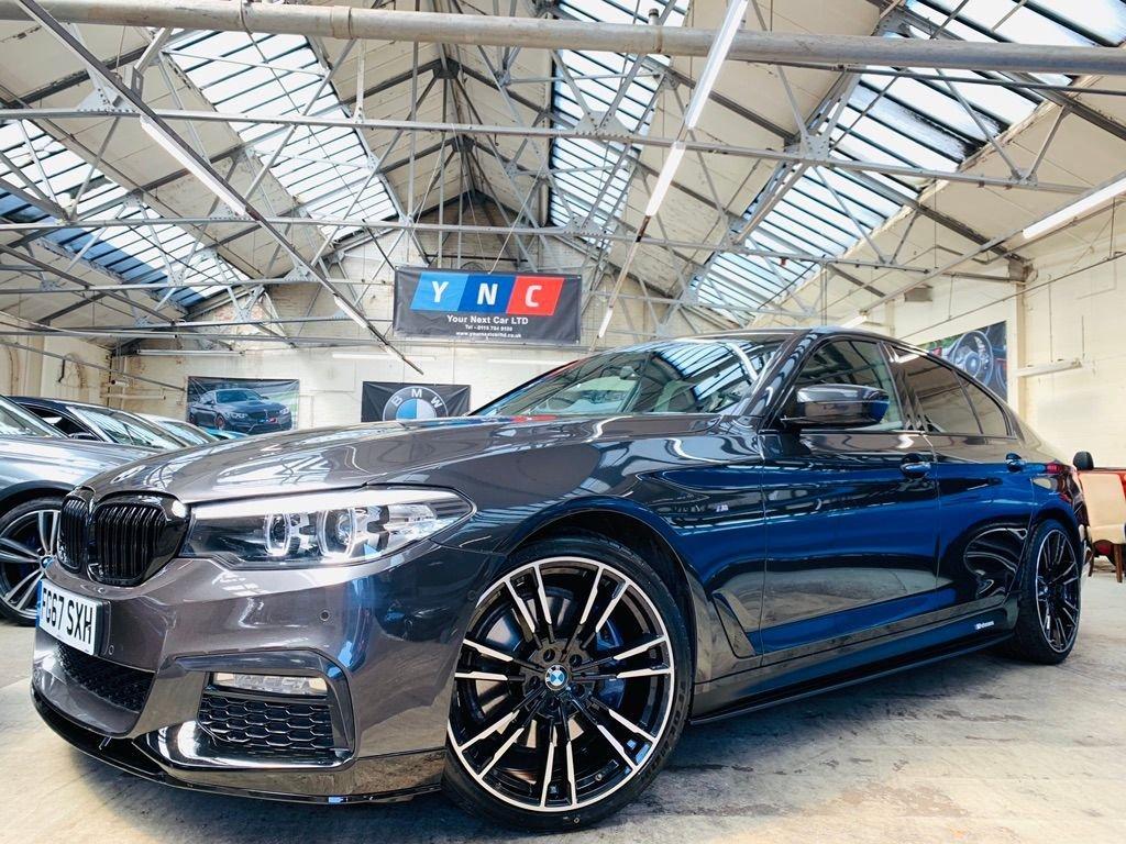 USED 2017 67 BMW 5 SERIES 3.0 530d M Sport Auto (s/s) 4dr PERFORMANCEKIT+REVCAM+20S+