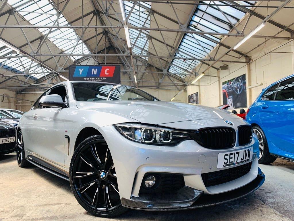 USED 2017 17 BMW 4 SERIES 2.0 420d M Sport 2dr MPERFORMANCEKIT+20S+CARBON!