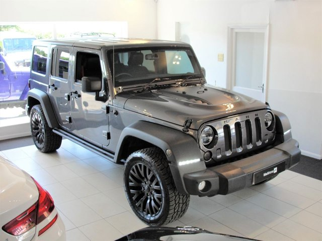 2017 67 JEEP WRANGLER 3.6 V6 RUBICON RECON UNLIMITED..Now Sold but another Rubicon available in a week.