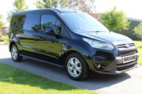USED 2018 18 FORD TRANSIT CONNECT 1.5 240 LIMITED P/V 118 BHP 2018 Limited Full History Long Wheel Base Reverse Parking Camera