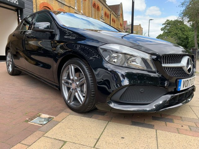 USED 2017 17 MERCEDES-BENZ A-CLASS 1.6 A 180 AMG LINE EXECUTIVE 5d 121 BHP 1 LADY OWNER, FULL MERCEDES SERVICE HISTORY