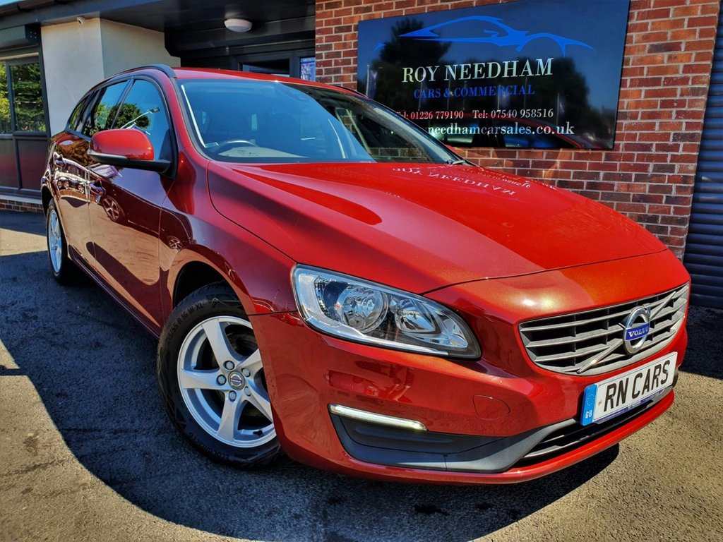 USED 2016 16 VOLVO V60 2.0 D3 BUSINESS EDITION 5DR 148 BHP *** SAT NAV - FULL HISTORY - CLEAN CAR ***