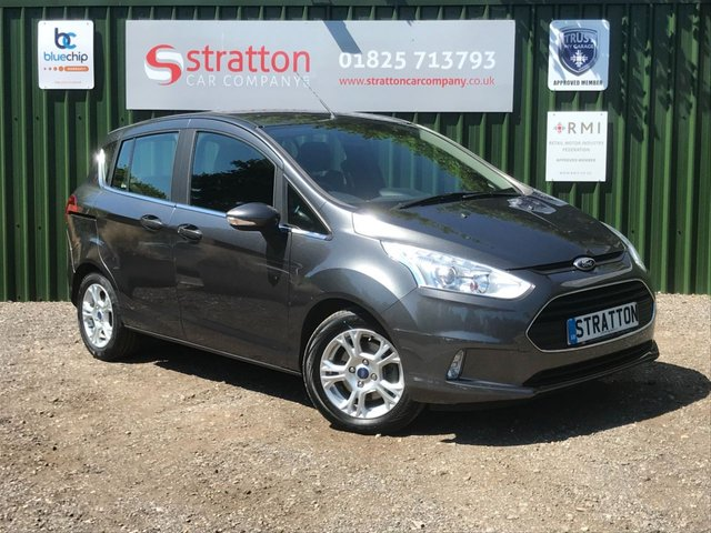 2016 66 FORD B-MAX 1.6 ZETEC 5d 104 BHP AUTOMATIC ONLY 30,726 MILES