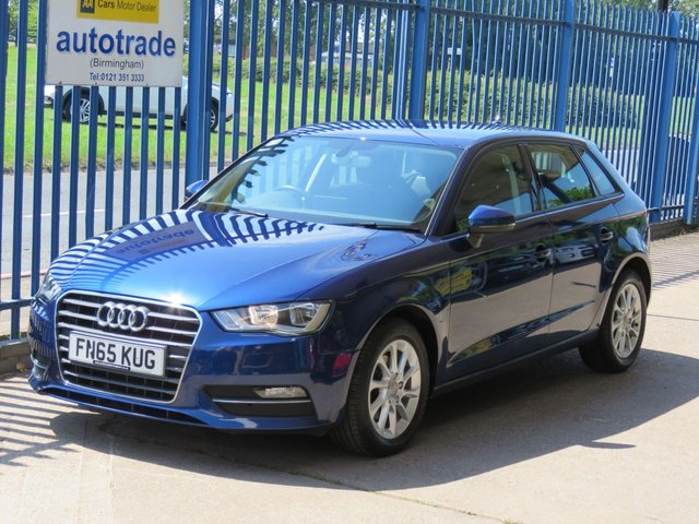 USED 2016 65 AUDI A3 1.6 TDI SE 5dr DAB Bluetooth & audio Air con Alloys ulez compliant Finance arranged Part exchange available Open 7 days ULEX Compliant