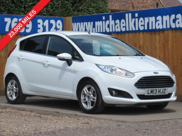 USED 2013 13 FORD FIESTA 1.2 ZETEC 5d 81 BHP IMMACULATE CAR