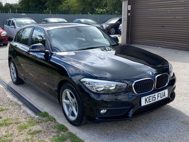 USED 2015 15 BMW 1 SERIES 1.5 116D ED PLUS 5d 114 BHP ONE COMPANY OWNER + BMW SERVICE HISTORY + SAT NAV