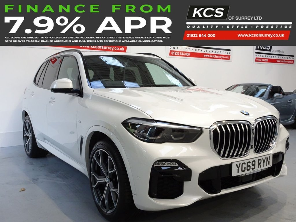 USED 2019 69 BMW X5 3.0 XDRIVE30D M SPORT 5d 261 BHP  11K FACTORY OPTIONS