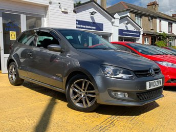 2013 VOLKSWAGEN POLO 1.2 MATCH 3d 59 BHP SOLD