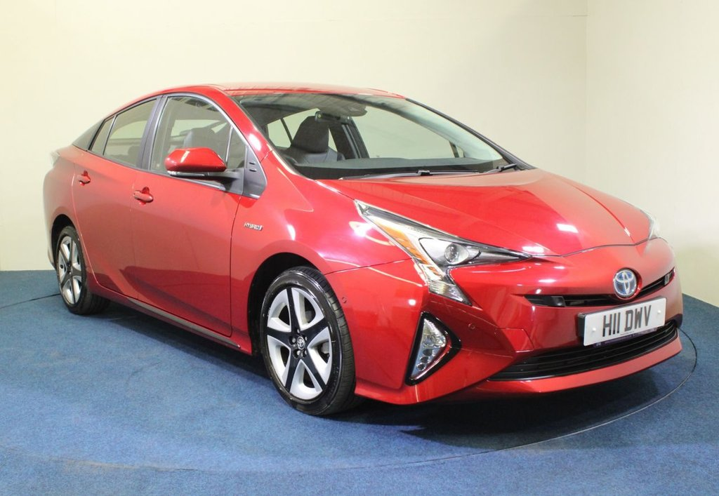 USED 2017 17 TOYOTA PRIUS 1.8 VVT-I EXCEL 5d 97 BHP